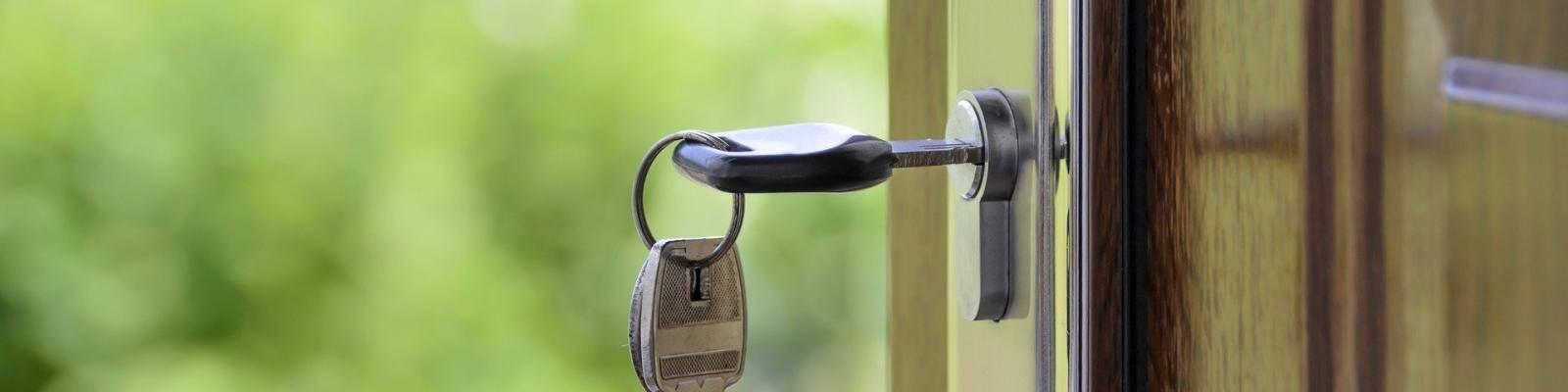 sleutel in nieuw huis