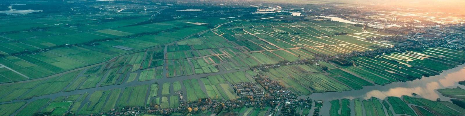 Nederlands landschap platteland
