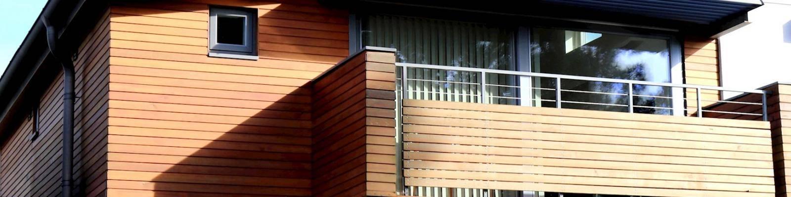 Huis met balkon