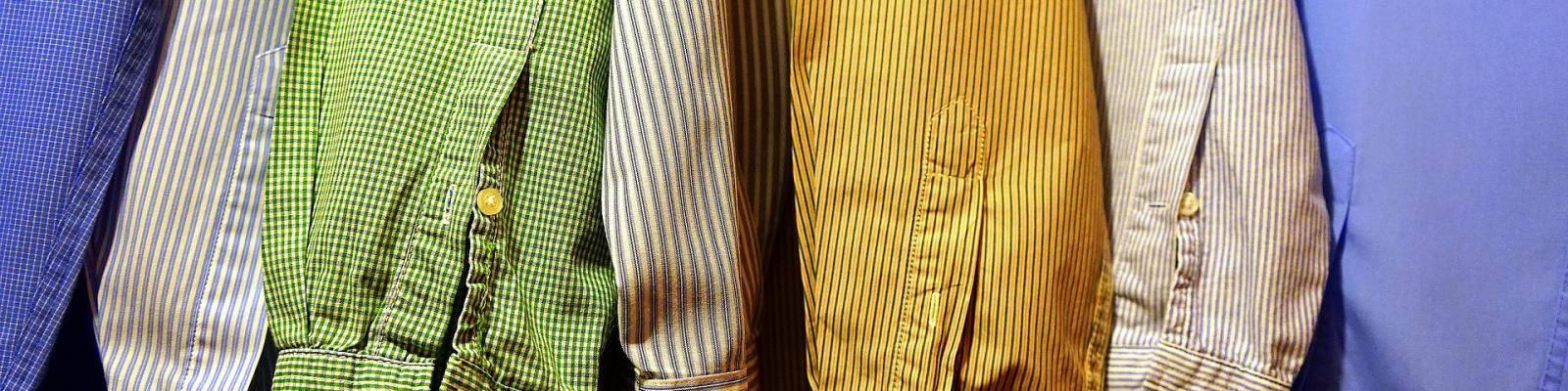 Hangende overhemden