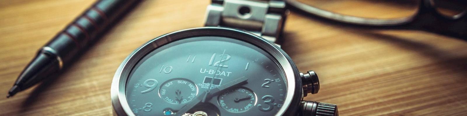 Horloge en pen