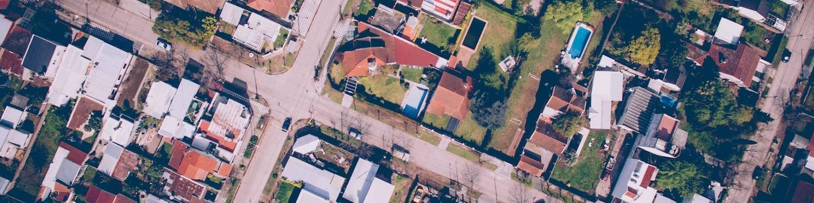 Luchtfoto straten
