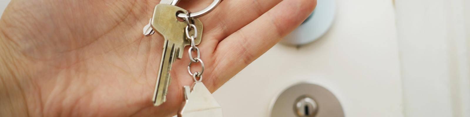 sleutels nieuw huis